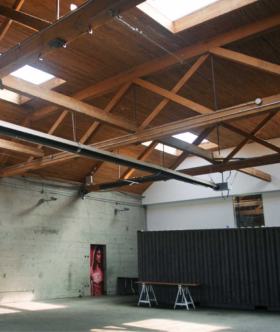 Rare Industrial Warehouse Concept Space